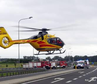 Wypadek koło Chełmska [NOWE ZDJĘCIA]