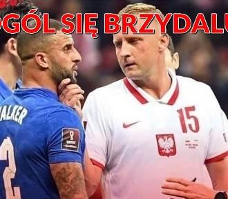 Polska - Anglia 1:1 MEMY Glik jak zapora, Lewandowski jak taran, Szymański jak ostrze