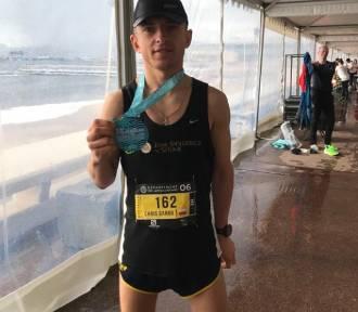 Krzysztof Garbowski wystartował w maratonie na Lazurowym Wybrzeżu we Francji