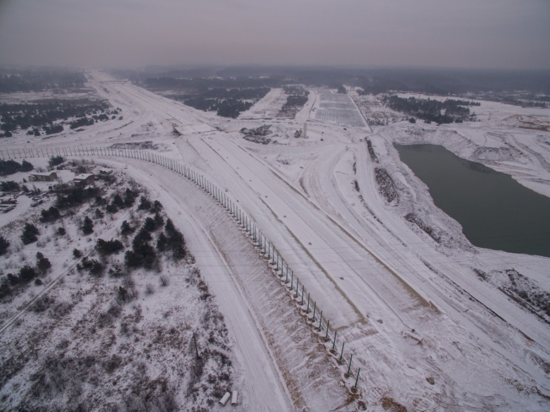 Odcinek F, będący autostradową obwodnicą Częstochowy ma największe opóźnienia w budowie