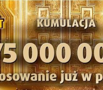 Eurojackpot 11.01.2019. Do wygrania było 75 mln zł
