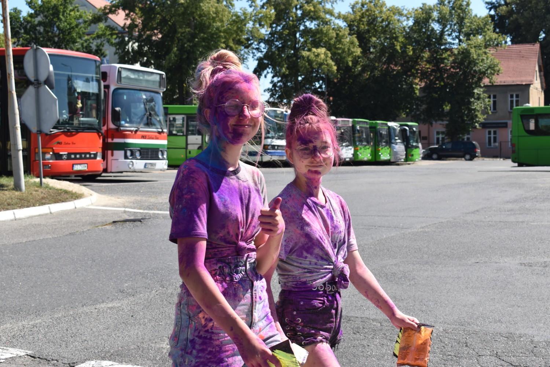Święto kolorów w Krośnie Odrzańskim! Zabawa na całego z kolorowymi proszkami! Byliście? Szukajcie się na zdjęciach!