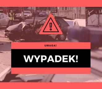 Wypadek w Trzyciążu na drodze wojewódzkiej 794