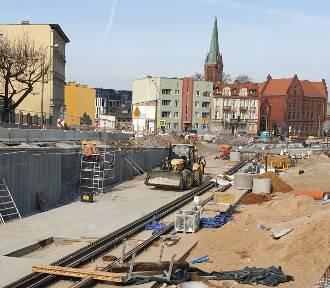 Rozbudowa ul. Kujawskiej w Bydgoszczy [zdjęcia]