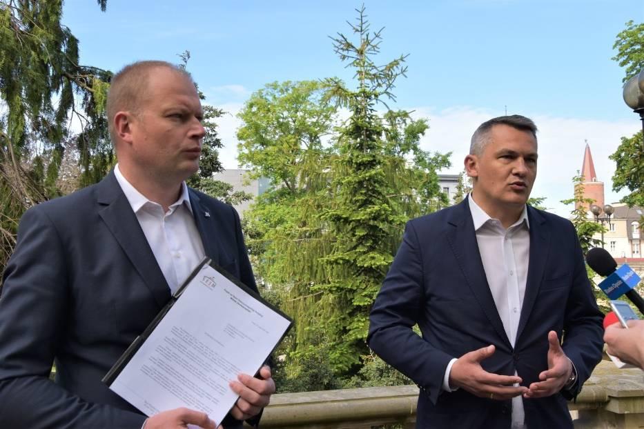 Witold Zembaczyński domaga się wyjaśnień od policji odnośnie wydarzeń z protestu przedsiębiorców w Warszawie