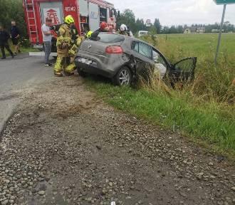 Spisz. Poranne zderzenie trzech samochodów. Jedna osoba została poszkodowana
