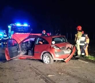 Tragiczny wypadek pod Wrocławiem. Kierowca pijany, pasażer nie żyje [ZDJĘCIA]