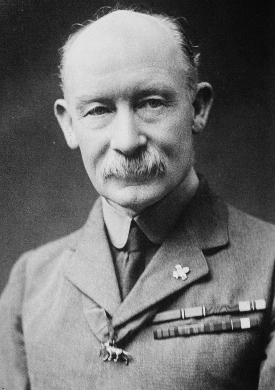 Generał Baden Powell - obraz pochodzący z zasobów Biblioteki Kongresu Stanów Zjednoczonych
