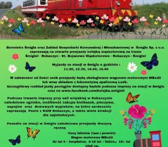 Śmigielska Kolej Wąskotorowa zaprasza na majówkę ZAPOWIEDŹ