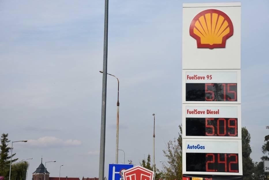 Zobacz ile kosztuje paliwo na wrzesińskich stacjach