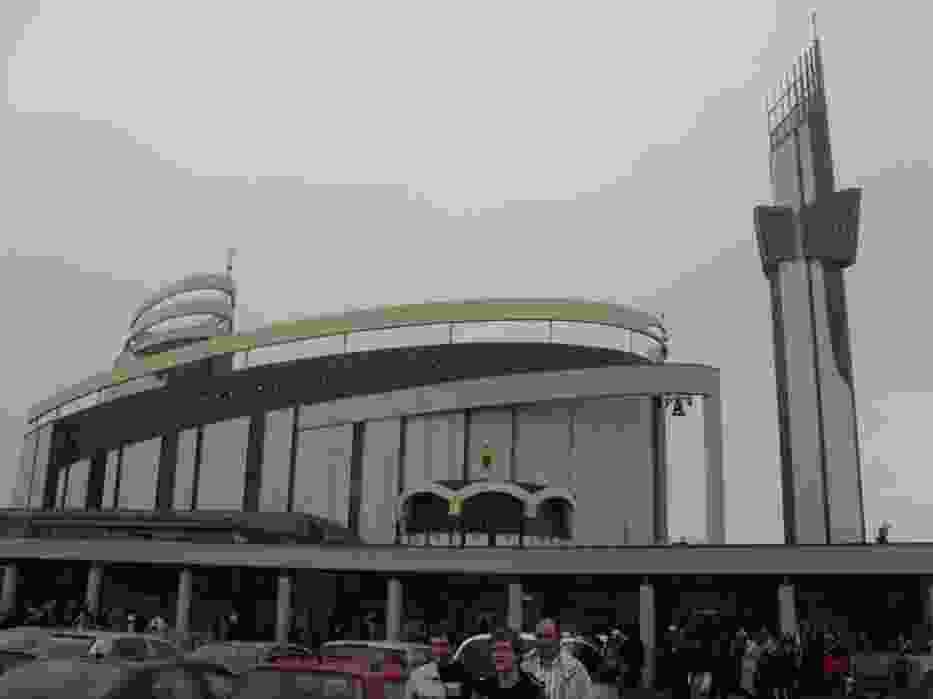 Sanktuarium Bożego Miłosierdzia w Łagiewnikach - miejsce dzisiejszych uroczystości