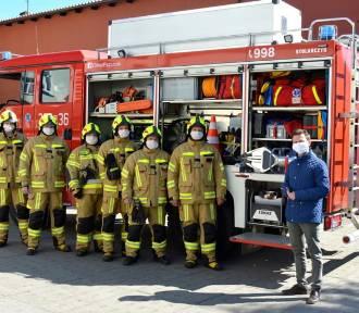 Strażacy z OSP Pszczółki mają nowy sprzęt i ubrania ochronne