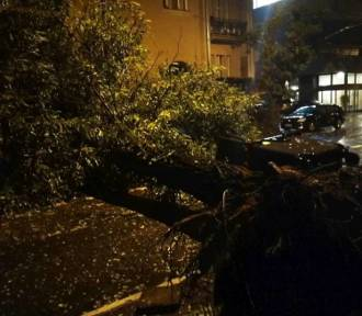 Niebezpieczna noc w Rudzie Śląskiej. Orkan Ksawery narobił bałaganu