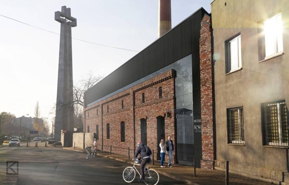 Tak ma wyglądać muzeum przy kopalni Wujek po przebudowie
