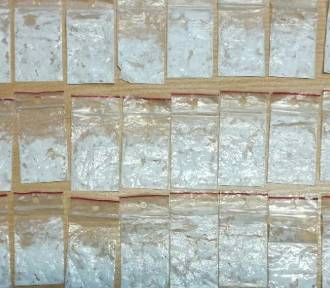 Zostali zatrzymani do kontroli. W aucie mieli 2 tys. porcji amfetaminy!