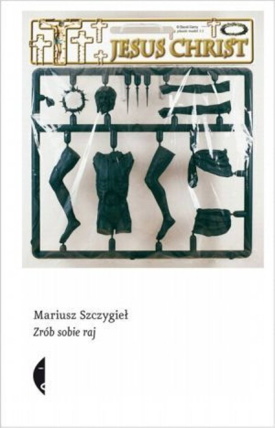 Na okładce książki Mariusza Szczygła znajduje się praca jednego z jej bohaterów, Davida Cernego
