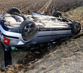 Wypadek na DK1 w Woli Rokszyckiej