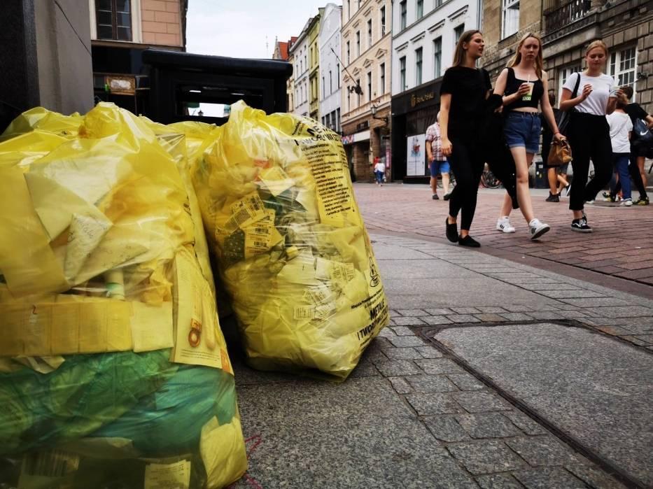 Nawet 30 zł od osoby za wywóz śmieci zapłacą od stycznia torunianie, którzy nie segregują odpadów