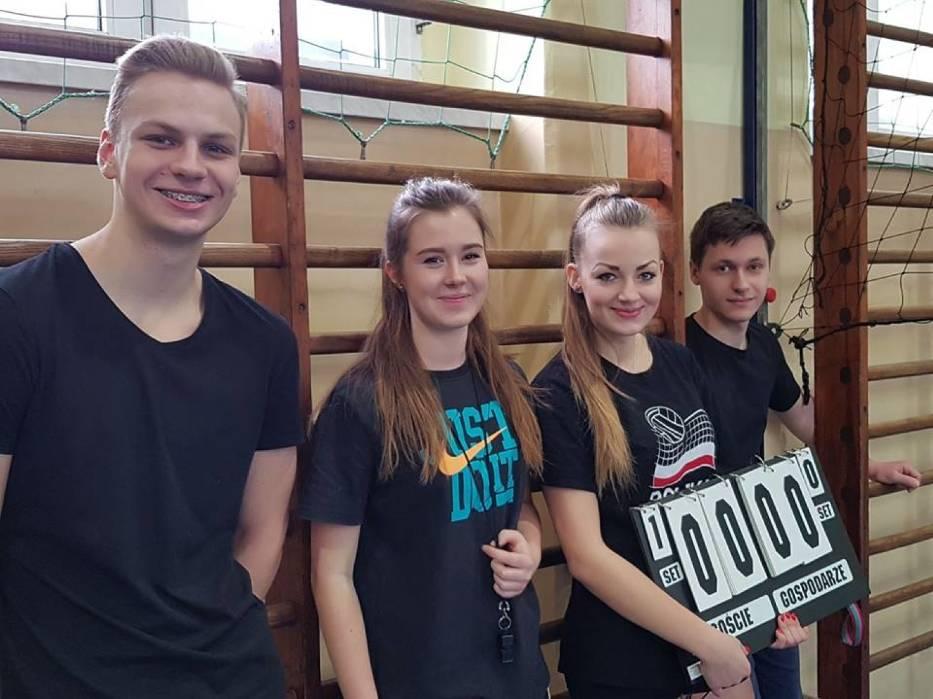 Turniej walentynkowy w I LO w Mikołowie