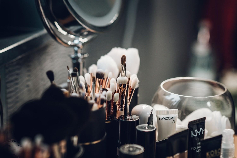 Nieprawidłowa aplikacja kosmetyków