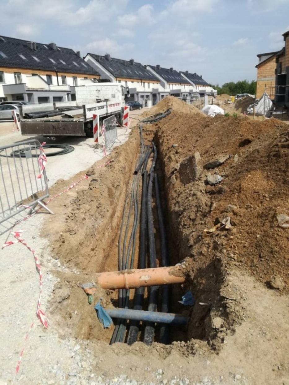Budowa ul. Gumińskiego w Legnicy