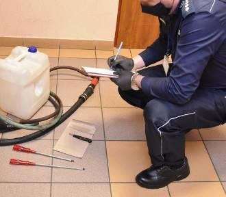 Podejrzany o kradzież paliwa w Skarszewach został zatrzymany