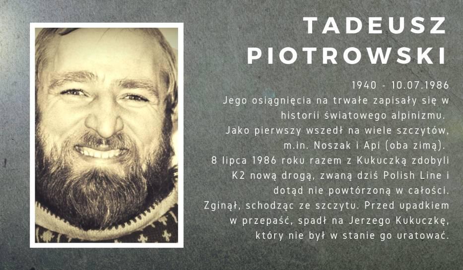 Tadeusz Piotrowski (1940-1986)