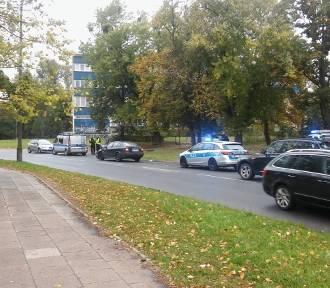 Wypadek radiowozu. Ranni policjanci [ZDJĘCIA FILM]