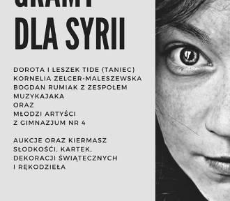 Koncert dla dzieci z Syrii w Żorach już w sobotę 17 marca - zagra młodzież z Gimnazjum nr 4