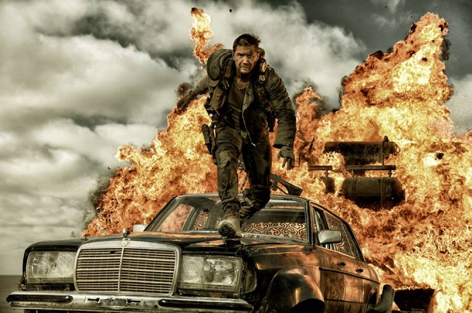 """Tom Hardy w filmie """"Mad Max. Na drodze gniewu"""""""