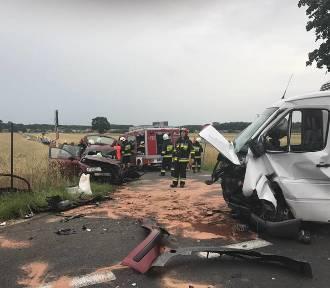 Poważny wypadek w Grońsku. Lądował LPR [FOTO]