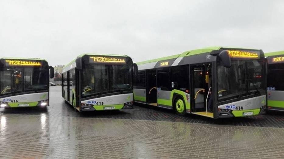 Gdy w przyszłym roku do Piły dotrą zamówione już elektryczne Solarisy, 3/4 taboru tamtejszego MZK będzie spełniało najwyższe normy ekologiczne