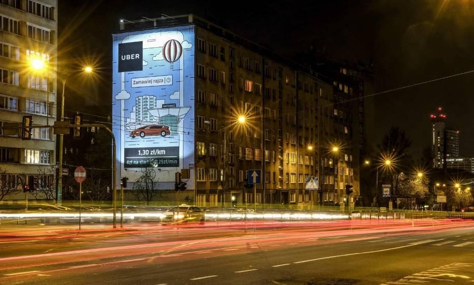 Mural Uber Katowice