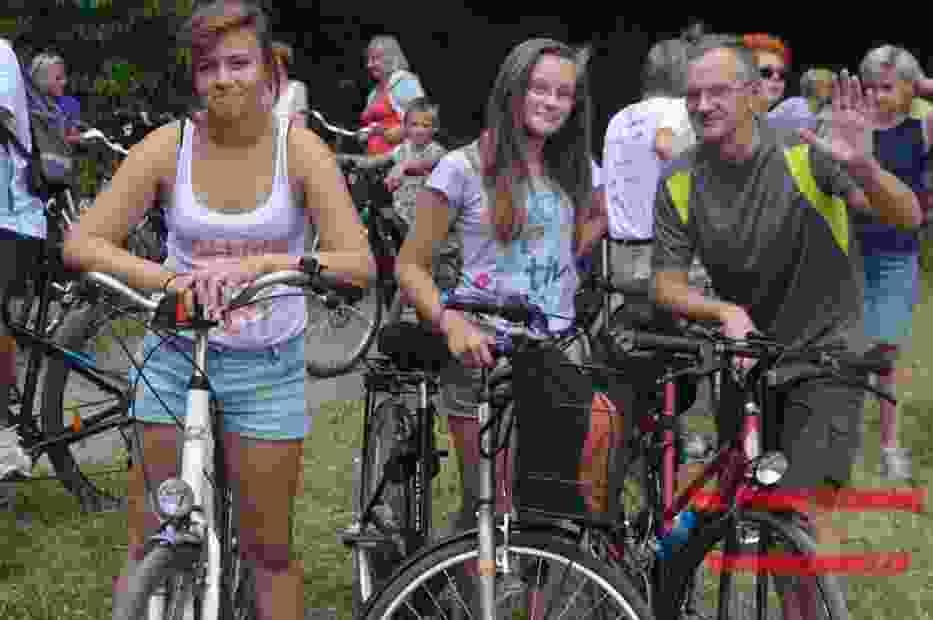 Rajd rowerowy do Gorenia Dużego