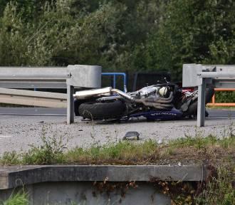 Wypadek na DK 28 w Gorlicach. Honda uderzyła w peugeota