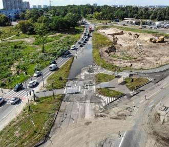 Deszcz opóźnia budowę trasy tramwajowej na Naramowice