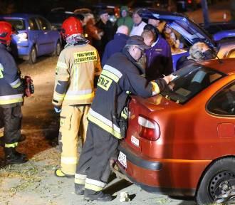 Pijany 25-latek uszkodził na Baczyńskiego cztery auta