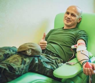 Terytorialsi oddali prawie 30 litrów krwi [ZDJĘCIA]