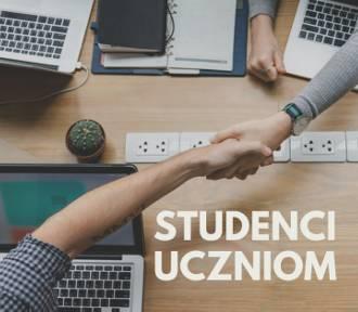 Studenci uczniom. DARMOWA POMOC W NAUCE