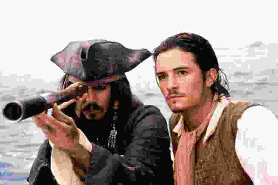 """Kadr z filmu """"Piraci z Karaibów. Klątwa Czarnej Perły"""""""
