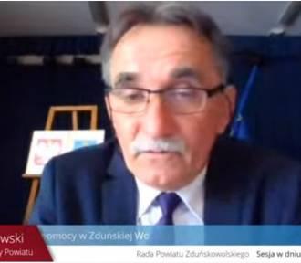 Sesja powiatowa w Zduńskiej Woli online. Oglądaj na żywo