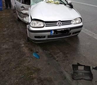 Groźny wypadek na DK 1 w Koziegłowach