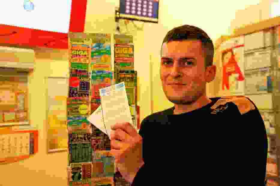 Grzegorz z Mszany Dolnej też próbuje szczęścia w zakładach