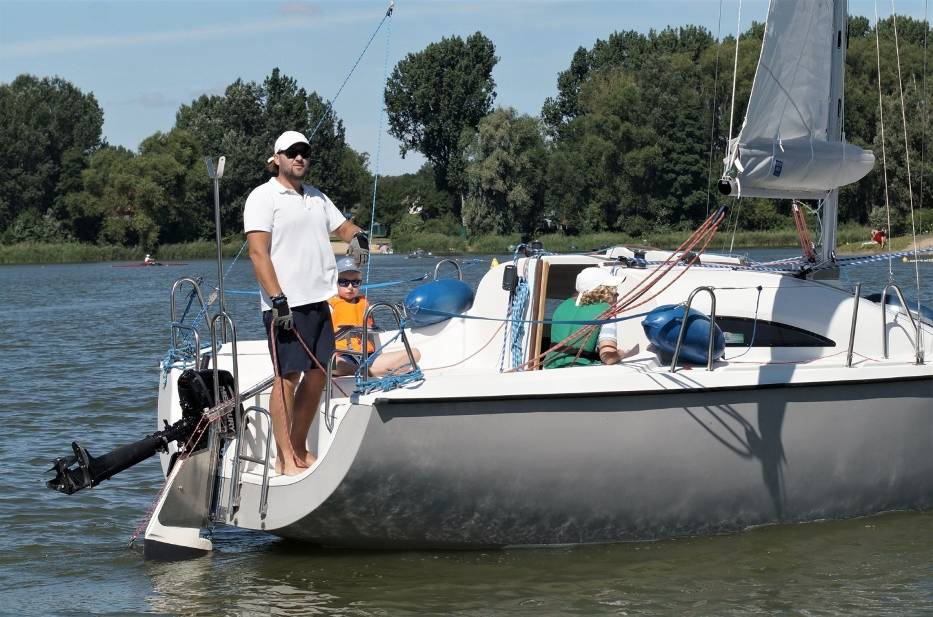 Podczas regat o Błękitną Wstęgę Jeziora Gopło walczyło 14 jachtów z 4 kujawsko-pomorskich klubów