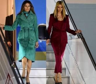 Melania i Ivanka Trump w Polsce. Jak prezentują się w Warszawie? [STYLIZACJE]