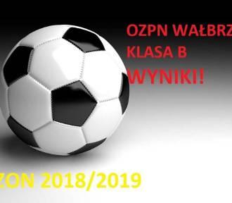 Grały drużyny piłkarskie klasy B na terenie OZPN Wałbrzych (WYNIKI)