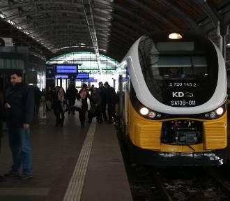 Gigantyczne opóźnienia w pociągach na trasie Wrocław-Jelcz-Laskowice