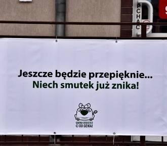 Gmina Debrzno wywiesza optymizm na banerach