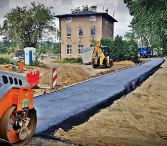 Przy Węźle Łękno trwają prace przy wiaduktach i instalacjach podziemnych [ZDJĘCIA]