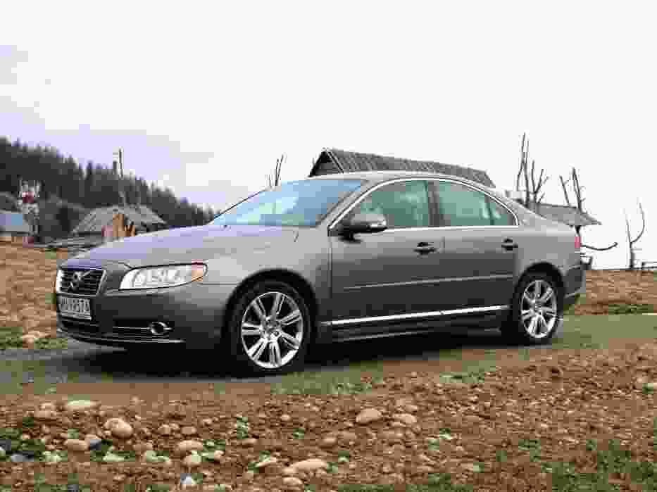 Klasyczne Volvo - jeszcze długo jego sylwetka będzie atrakcyjna